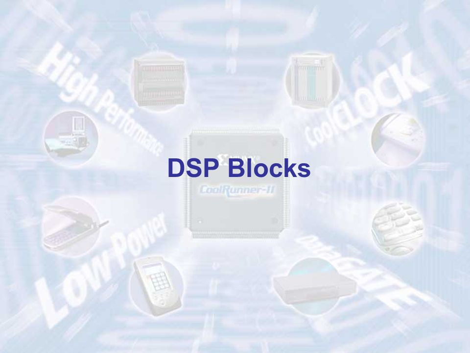 DSP Blocks ECE 448 – FPGA and ASIC Design with VHDL