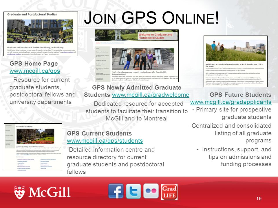 mcgill gps thesis deadlines Info about the gmat exam, mba & masters programs gmat registration, study tips, prep materials.
