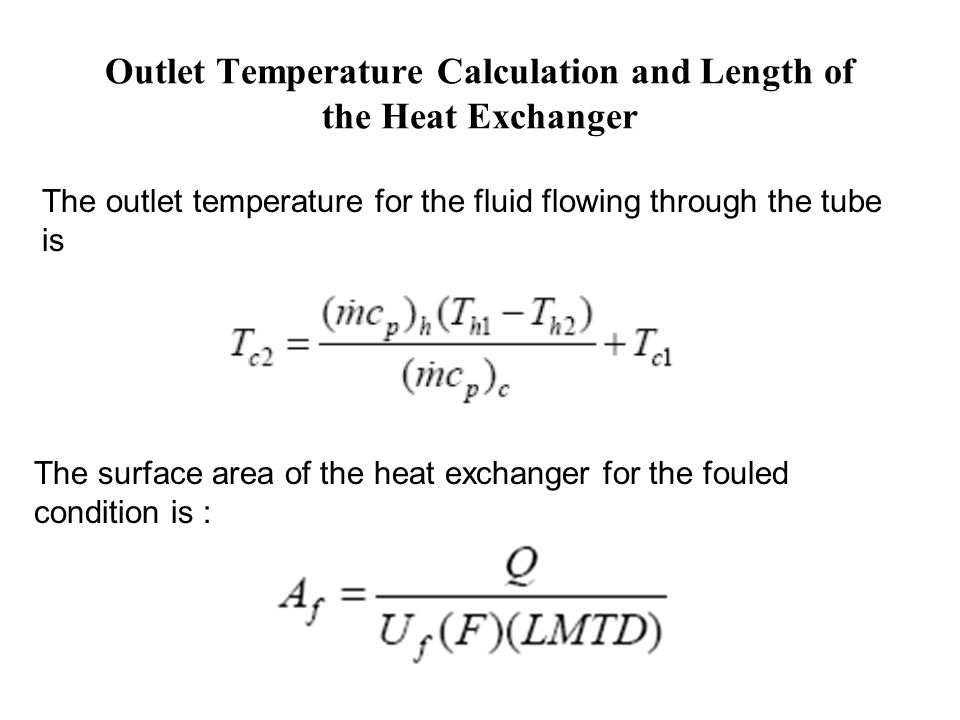how to calculate temperature change in flowing water