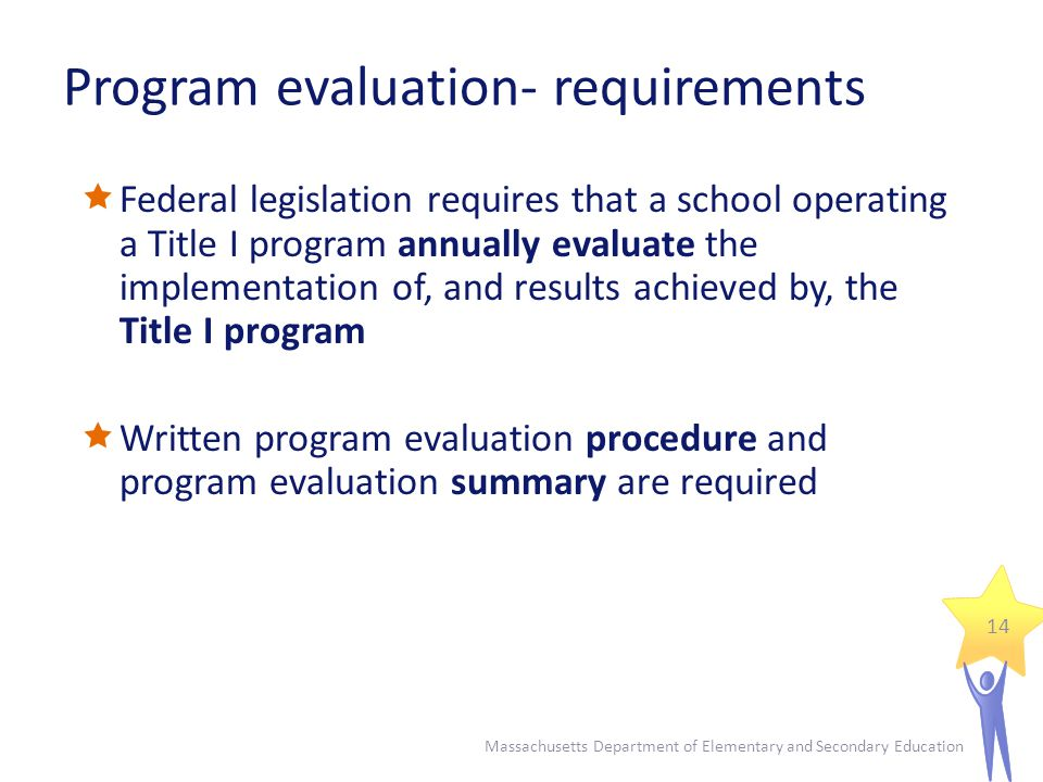 Title I Needs Assessment And Program Evaluation  Ppt Video Online