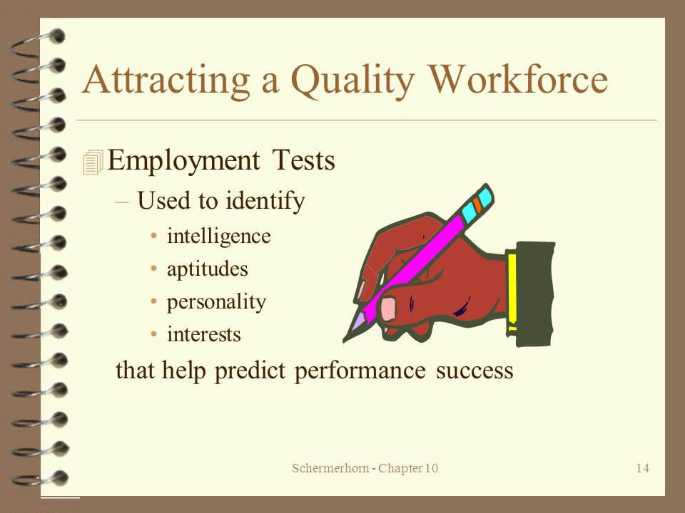 Using Personality Tests as a Hiring Tool
