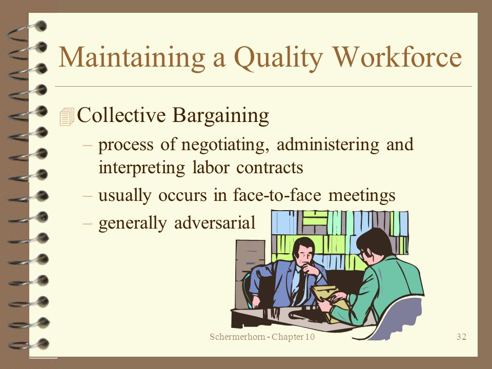 managing human capital collective bargaining external factors The political changes to human resource management determine the nature of working relationships  negotiations opposed to collective bargaining and roles for.