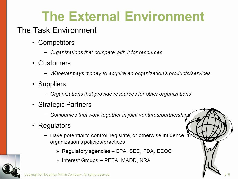 Target corporation task environment