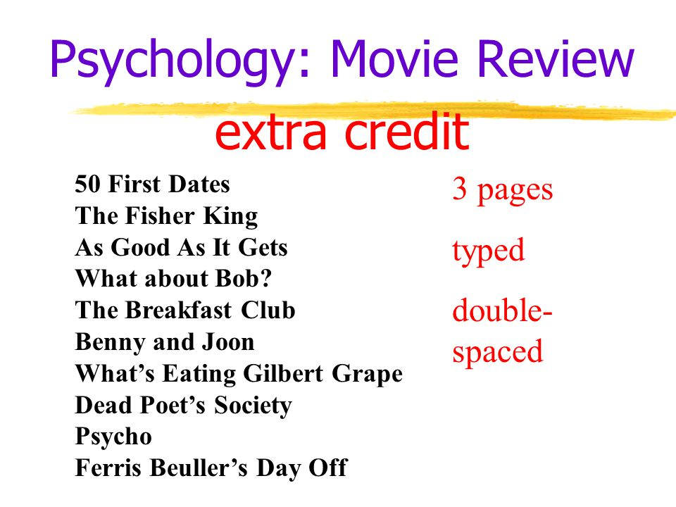 5 paragraph essay movie review