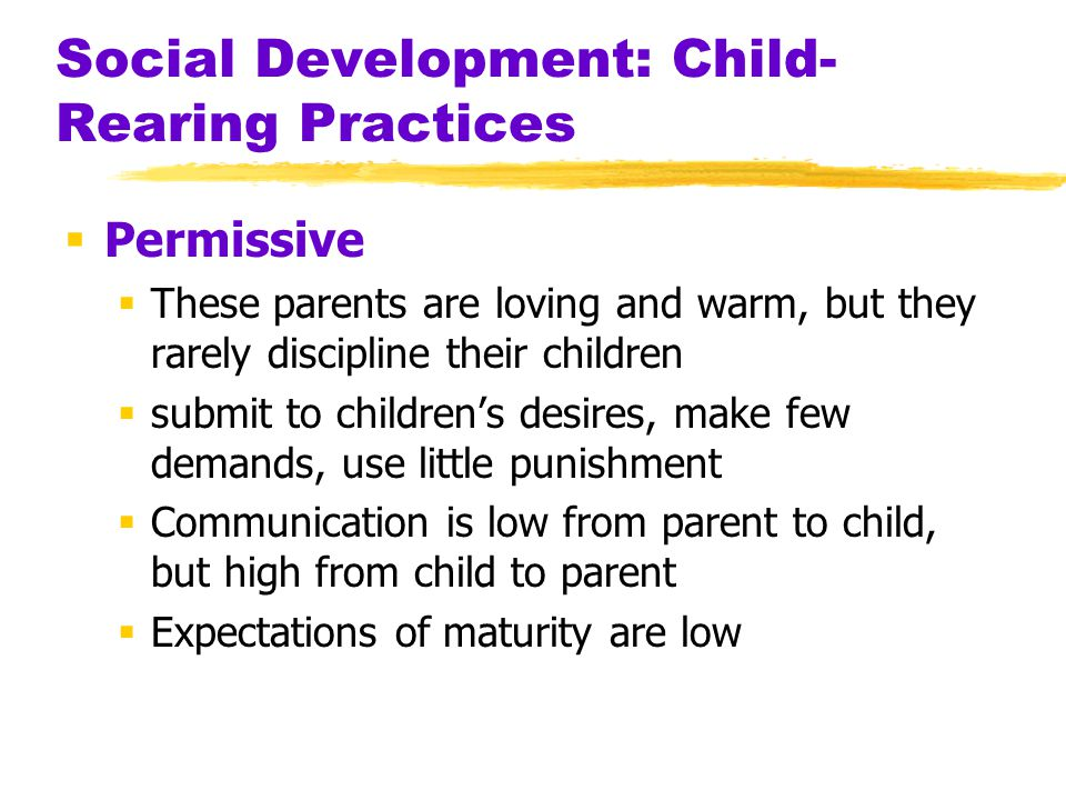 development and child rearing The present paper is an overview of studies examining the way family influences  the development of delinquency in adolescents the review focused on.