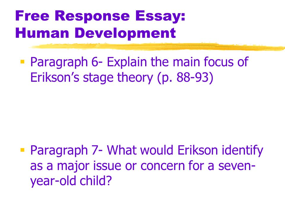 essay on child development theories Free essay: child developmental theories when an infant arrives in the world   child development was largely ignored throughout most of human history and.