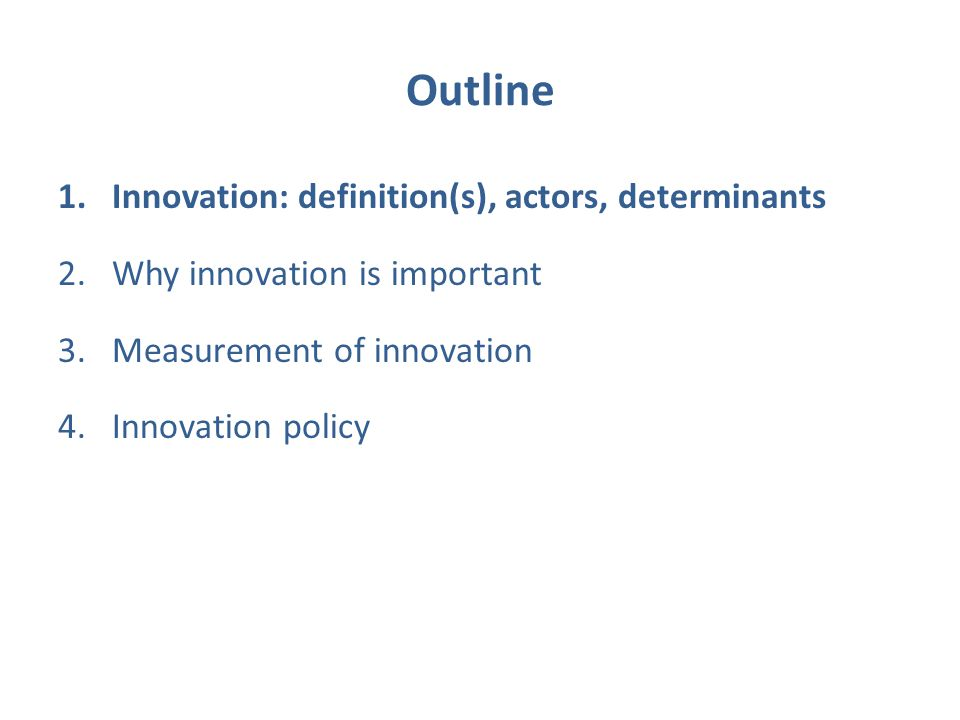 ends and means of innovation policy Innovation policy innovation  the gap between firms at the top and bottom ends of the  who convened for a think-tank symposium on innovation policy and.