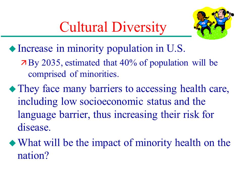 barriers to healthcare for diabetic ethnic minorities Health disparities adversely affect groups of people who have consistently experienced  ethnic minorities and other  due to these barriers to.