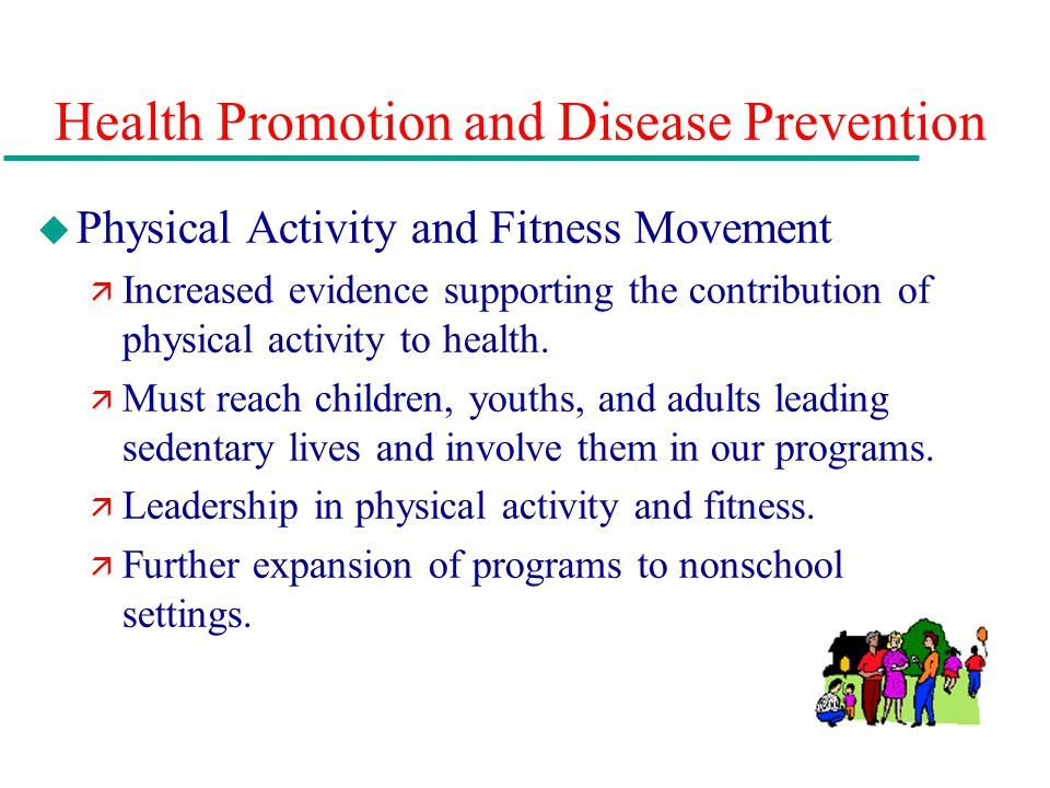 health promotions and disease prevention paper This free health essay on essay: health promotion and chronic kidney disease is perfect for health students to use as an example.