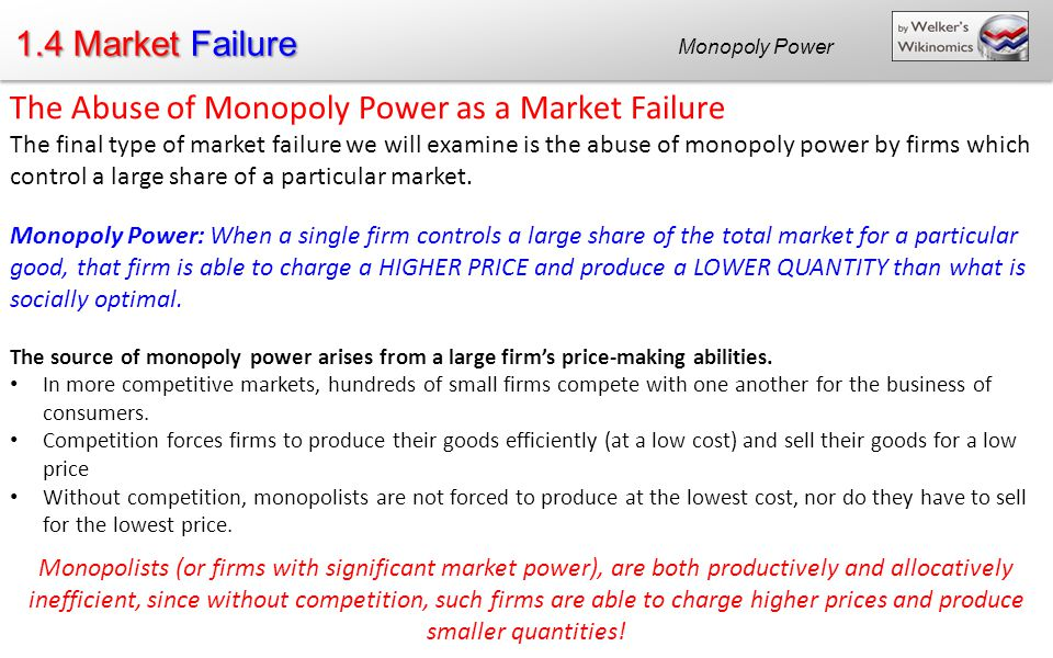 what is monopolistic exploitation When does firm monopsony power exploit w orkers  productivity mirrors  its monopolistic power to fix product prices without regard to cost7 it may seem.