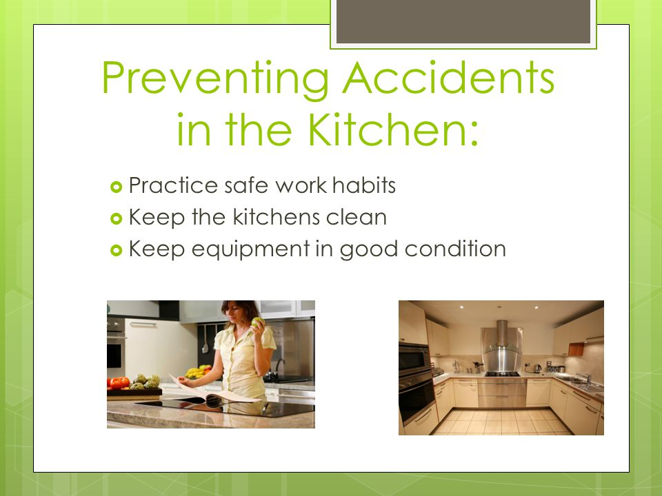 kitchen hazards [1] stay safe in the restaurant this material was edited under grant # sh22303sh1 (produced under grand # sh19478sh9 restaurant opportunities centers united) from the occupational safety and health.