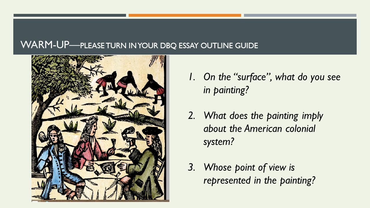 the old man and the sea essay DBQ Outline