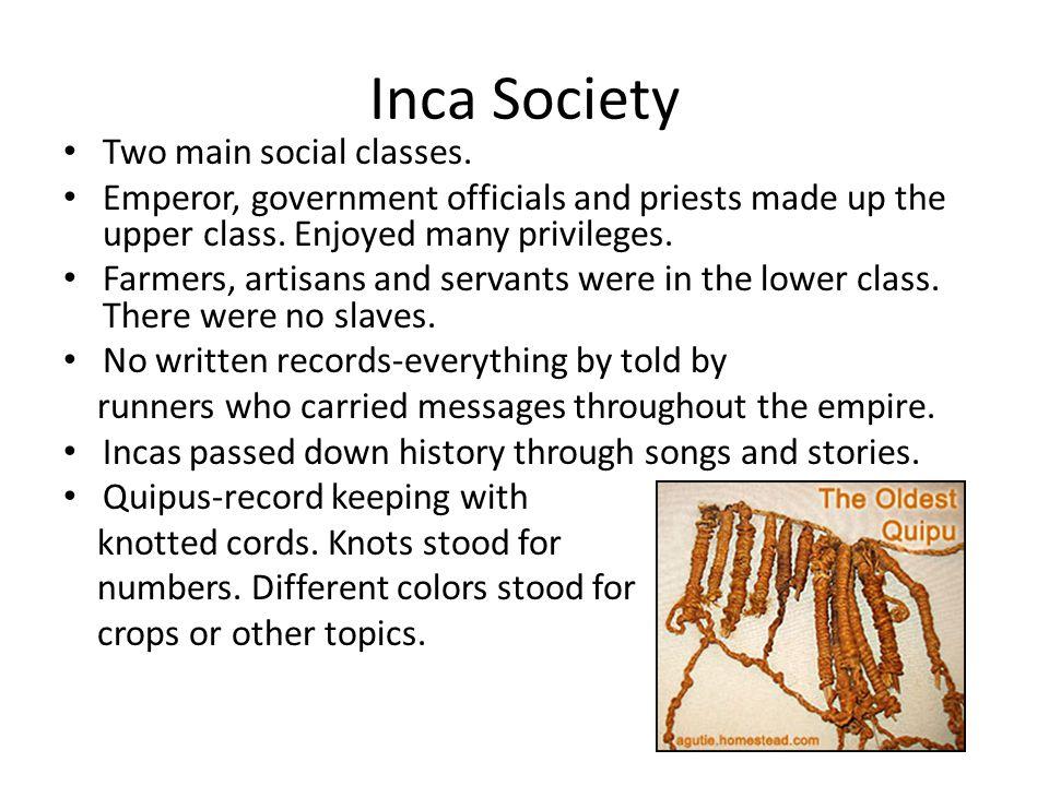 Inca Society