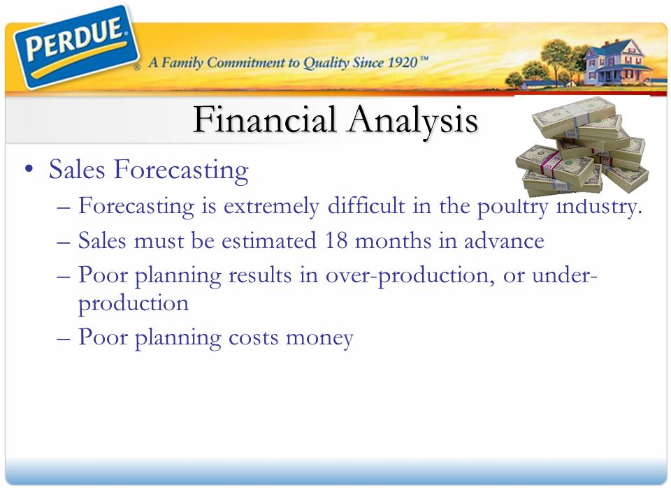 Financial Analysis Sales Forecasting