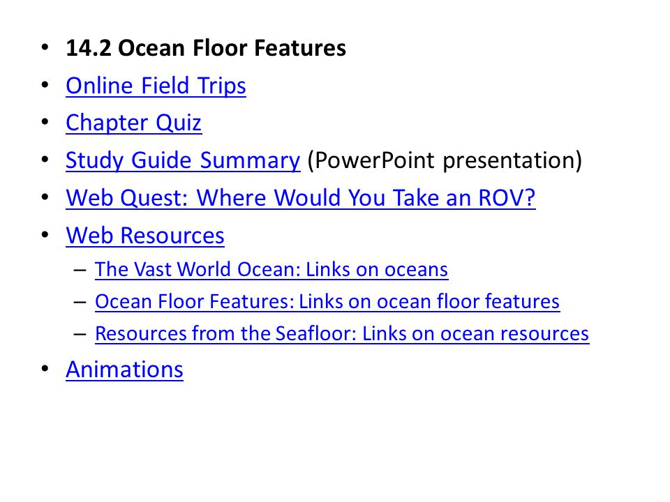Study Guide Summary (PowerPoint presentation)