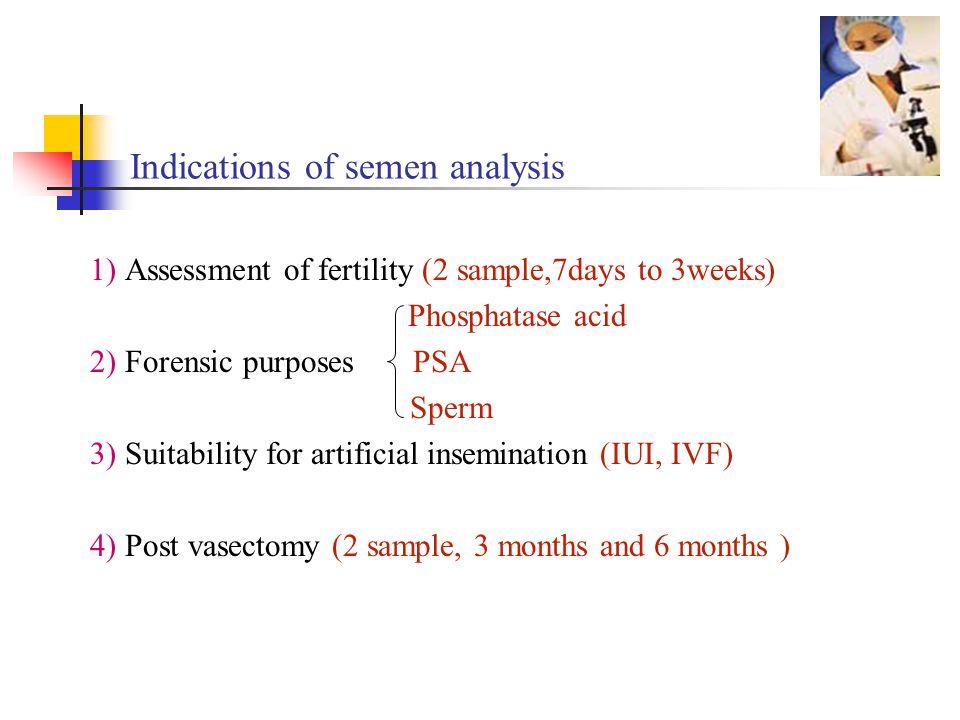Semen analysis & Sperm processing - ppt download