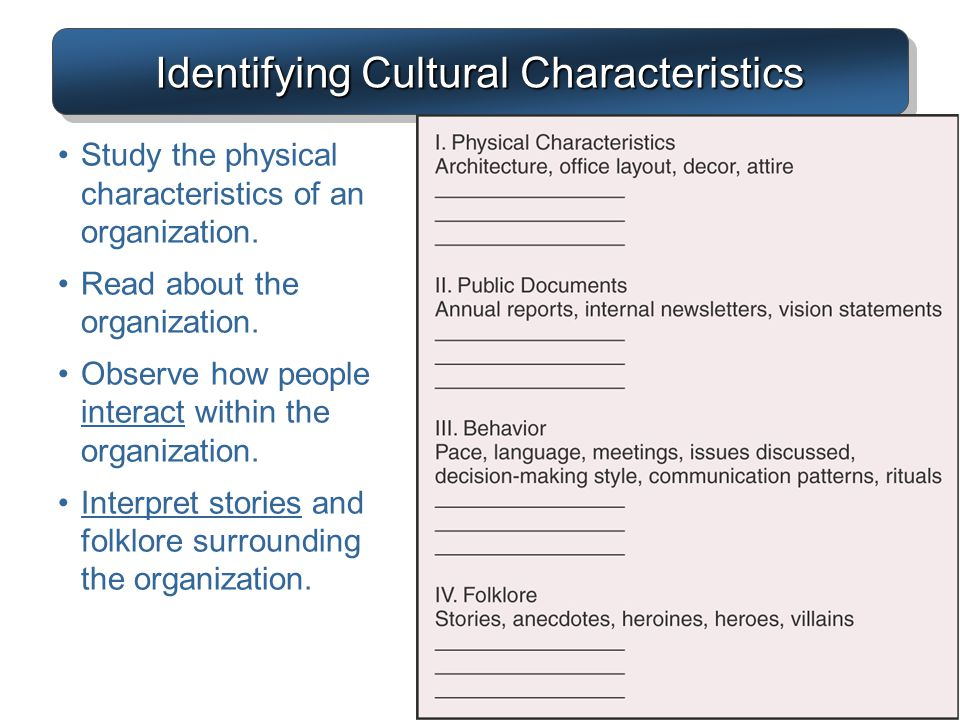 Chapter 3 organization structure culture ppt video Characteristics of modern office