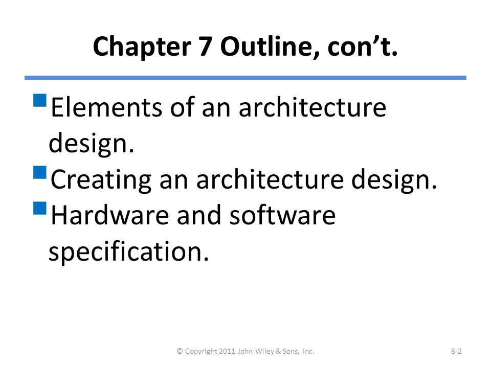 Architectural Design Wiley copyright 2011 john wiley & sons, inc. - ppt video online download