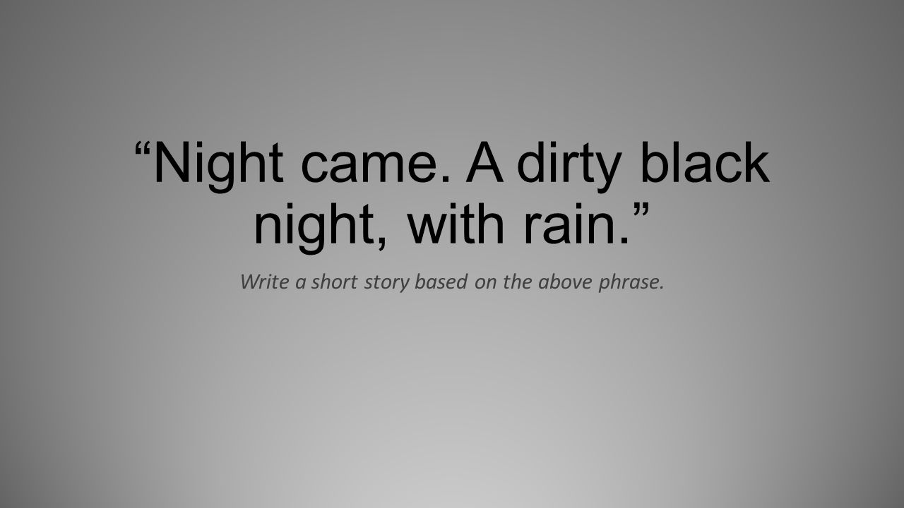 night came a dirty black night with rain Diddy - dirty money - coming home ft skylar grey dirtymoneyvevo loading unsubscribe from dirtymoneyvevo cancel unsubscribe working subscribe subscribed unsubscribe 415k.
