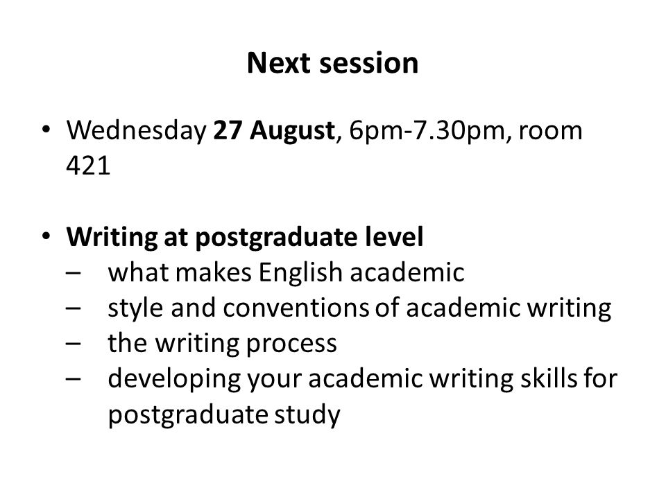 conventions of academic writing One thing that they all agree on is that there is some set of relatively stable  stylistic conventions that academics abide by, most of the time.