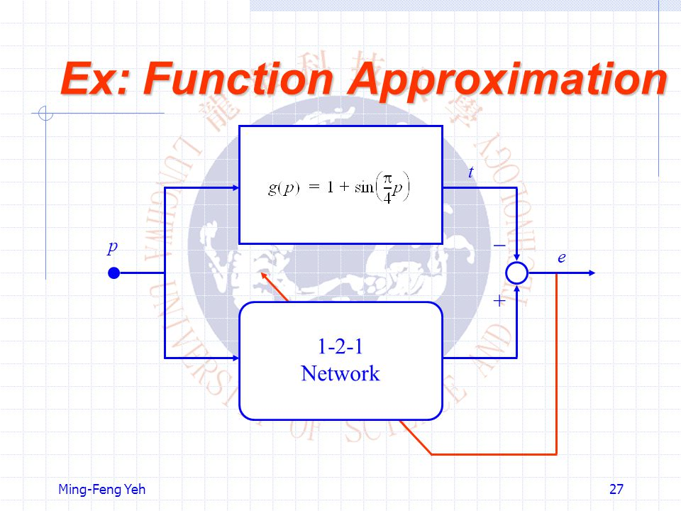 Ex: Function Approximation
