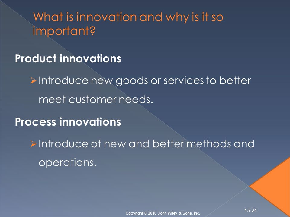 why is innovative management important and how have walmart s leaders demonstrated innovation throug Aligning organizational culture with business in walmart's case, it's important to have clearly management system to underscore innovation and.