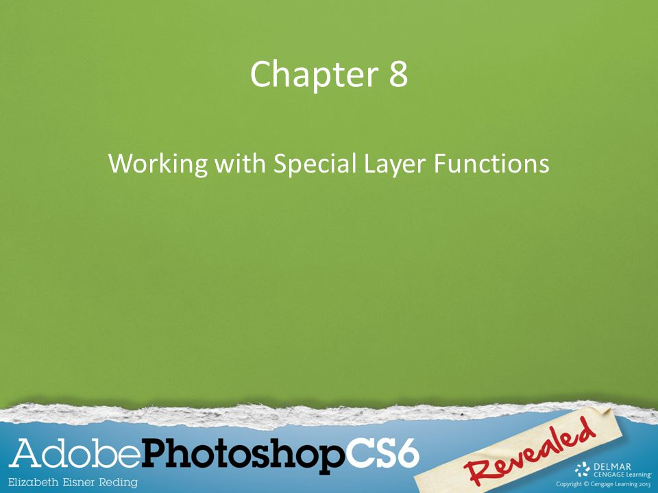 Working with Special Layer Functions