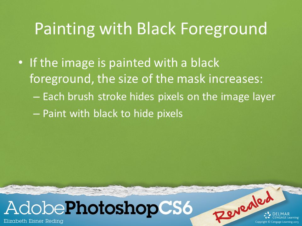 Painting with Black Foreground