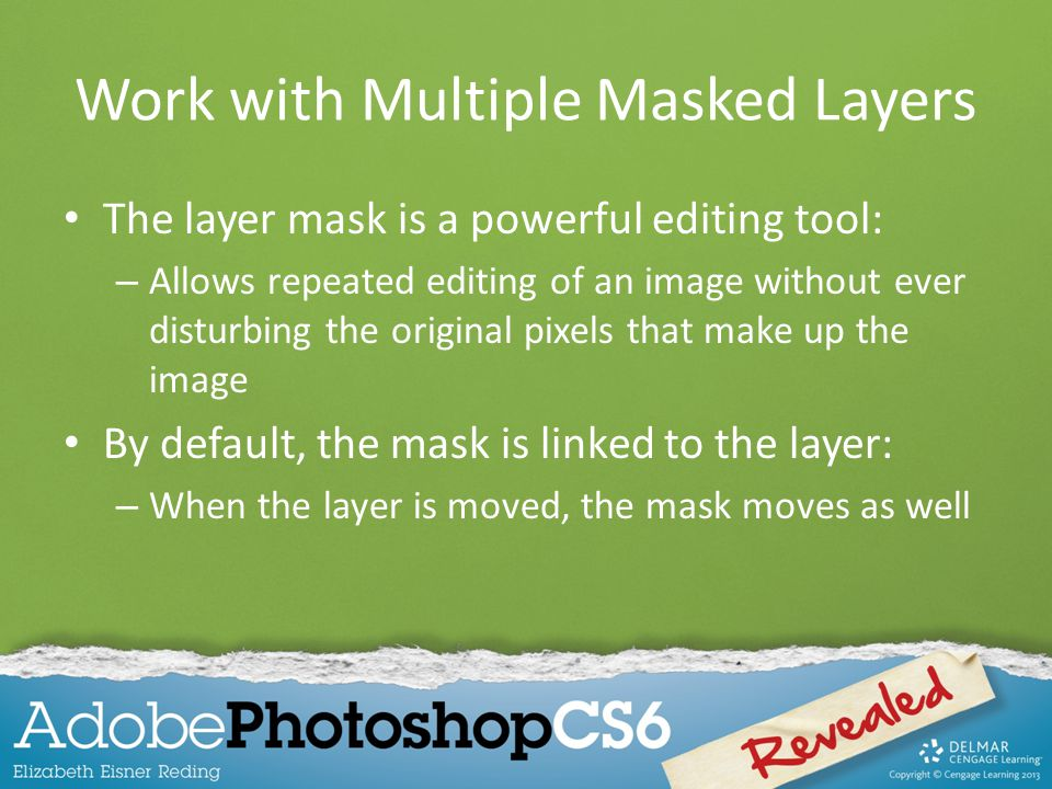 Work with Multiple Masked Layers