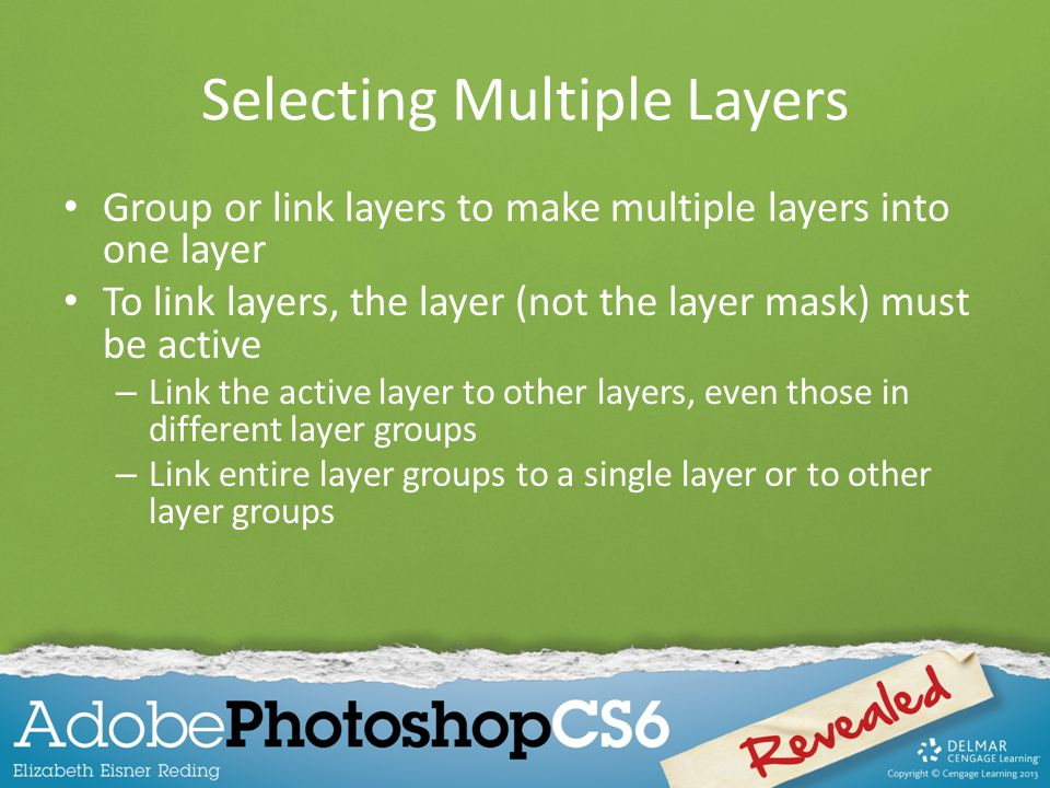 Selecting Multiple Layers