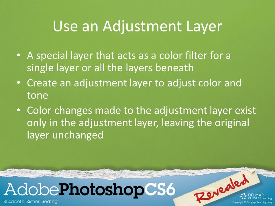 Use an Adjustment Layer