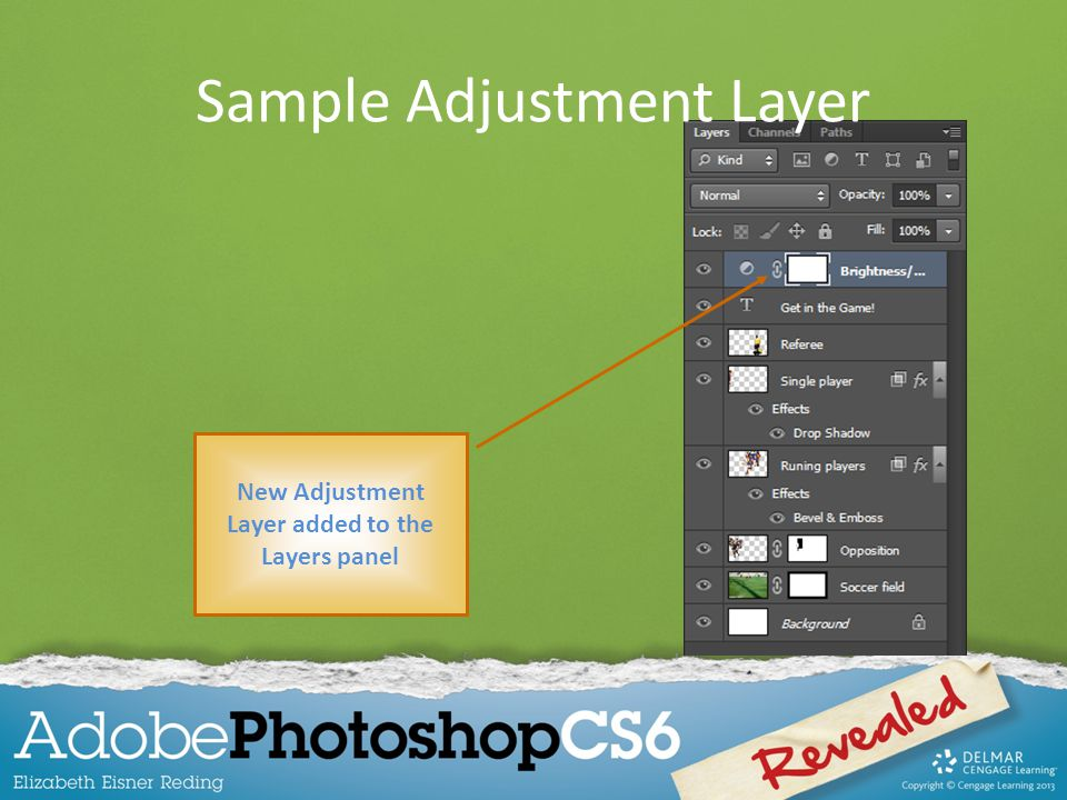 Sample Adjustment Layer