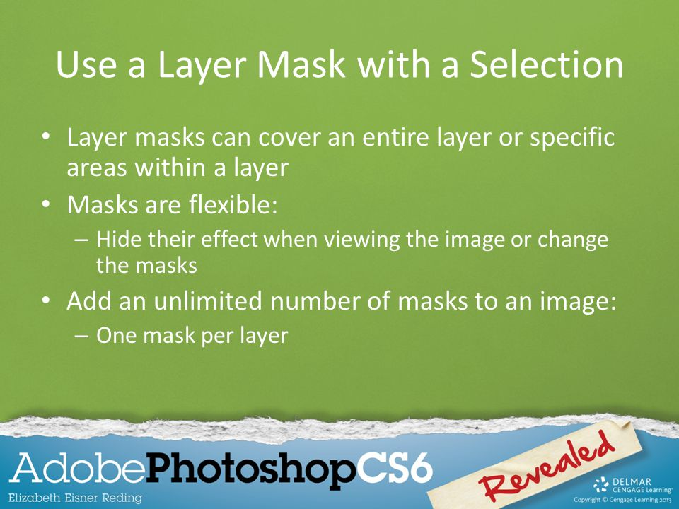 Use a Layer Mask with a Selection