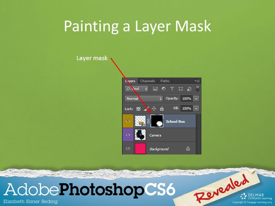 Painting a Layer Mask Layer mask