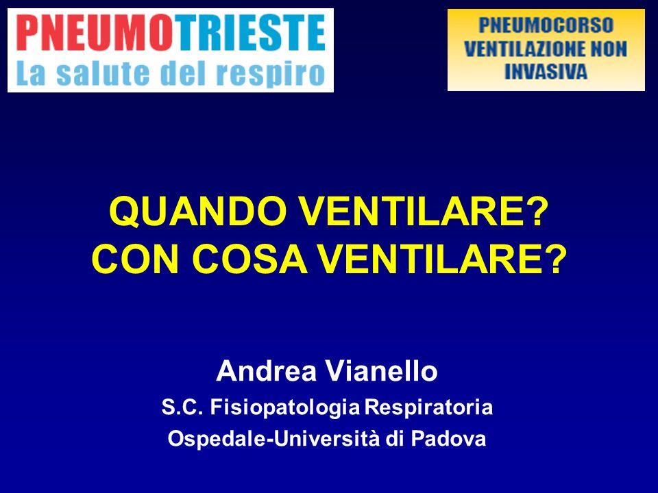 S.C. Fisiopatologia Respiratoria Ospedale-Università di Padova