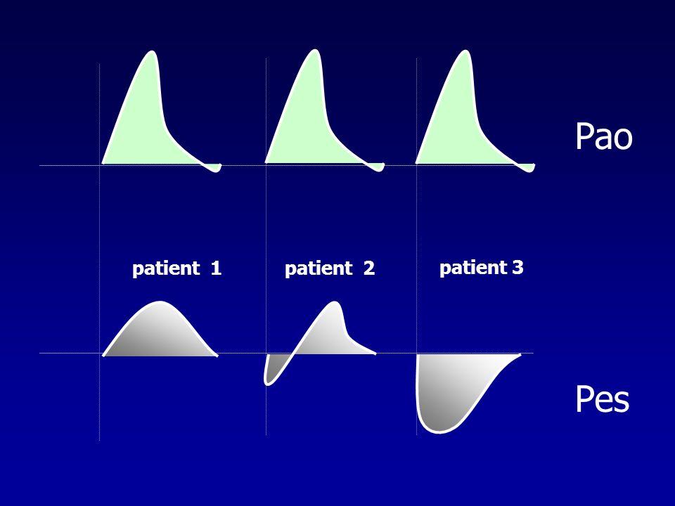 Pao Pes patient 1 patient 2 patient 3
