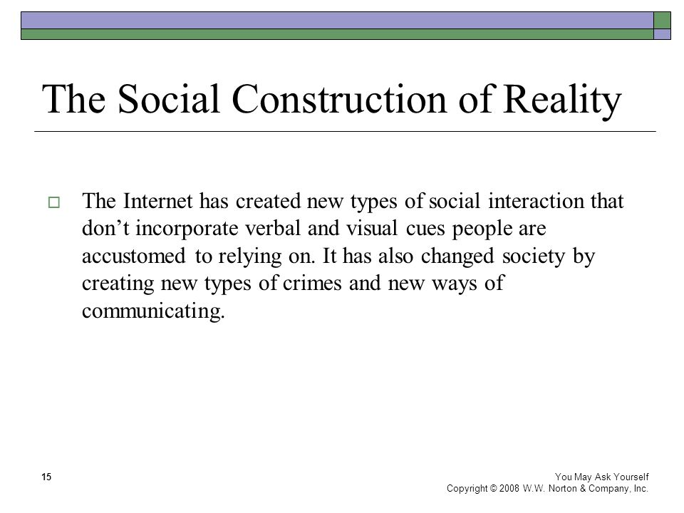 the social construction of reality This is one book i love reading it again and again here i am presenting a review of this book which may prompt you to read it once some of the.