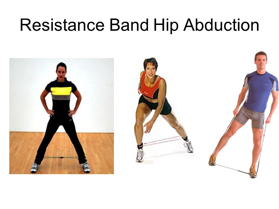 Resistance Band Hip Abduction