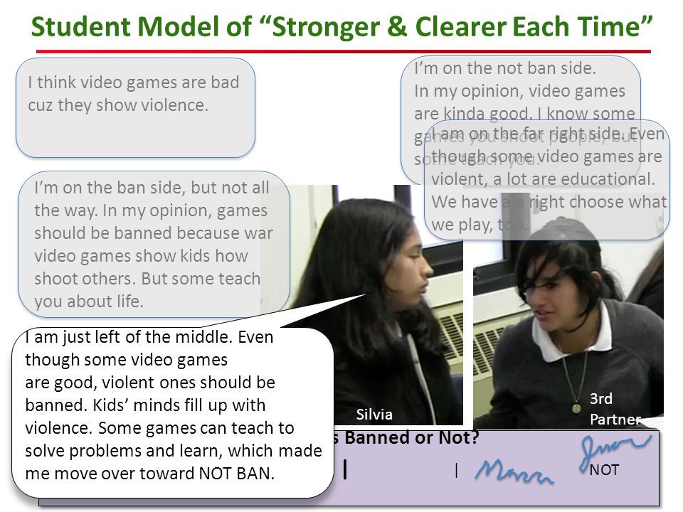 Student Model of Stronger & Clearer Each Time