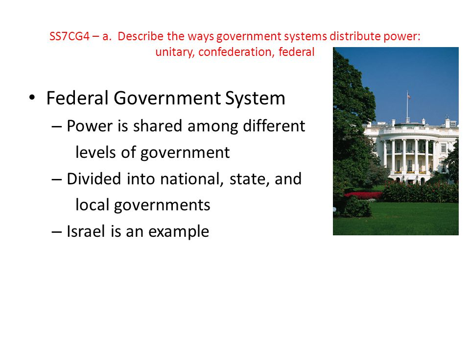Federal Government System