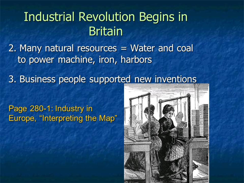 why did the industrial revolution began in england dbq essay Free essay reviews essayjudgecom is a free education resource for students who want help writing college essays you are ostensibly trying to answer the question why did the industrial revolution start in great britain.