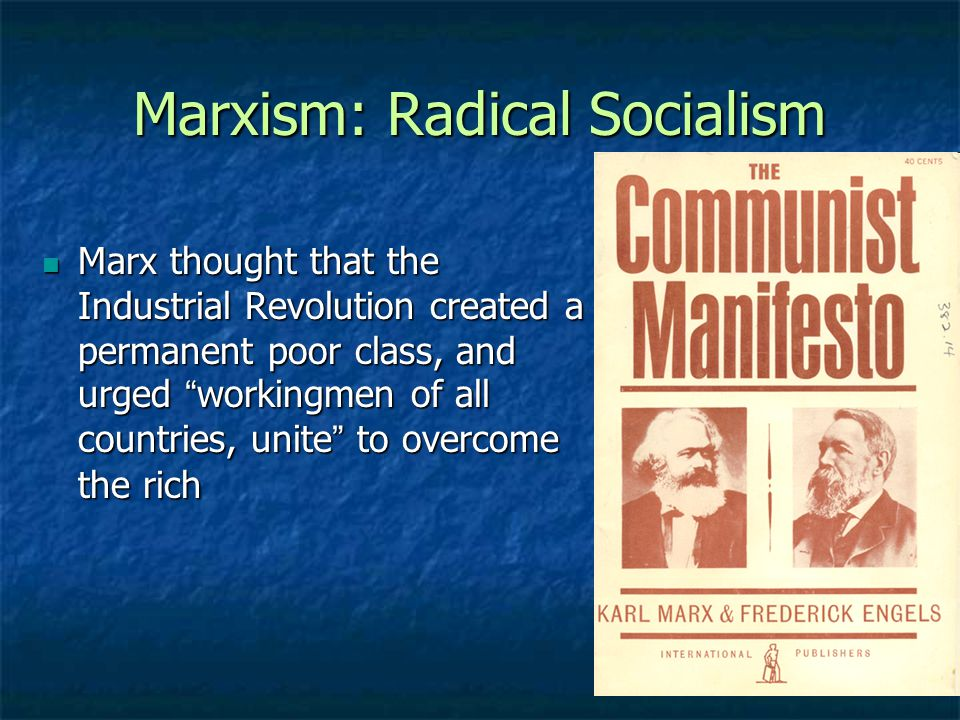 socialism according to marx The rise of socialism and  each produces according to what he can/each takes according to what he needs in a  marx's critics within the socialist .