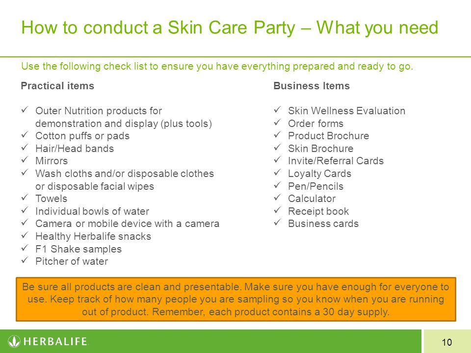 Herbalife Skin Party Invitation | southernsoulblog.com