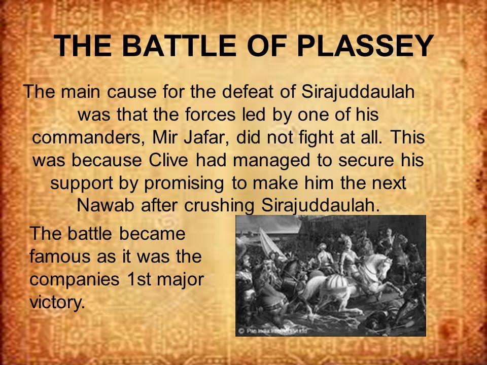 battle of plassey facts