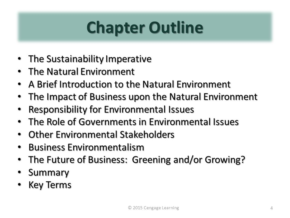 impact of natural environment on business What is the physical environment of a business - definition environment of a business consists of natural and of a business - definition, components.