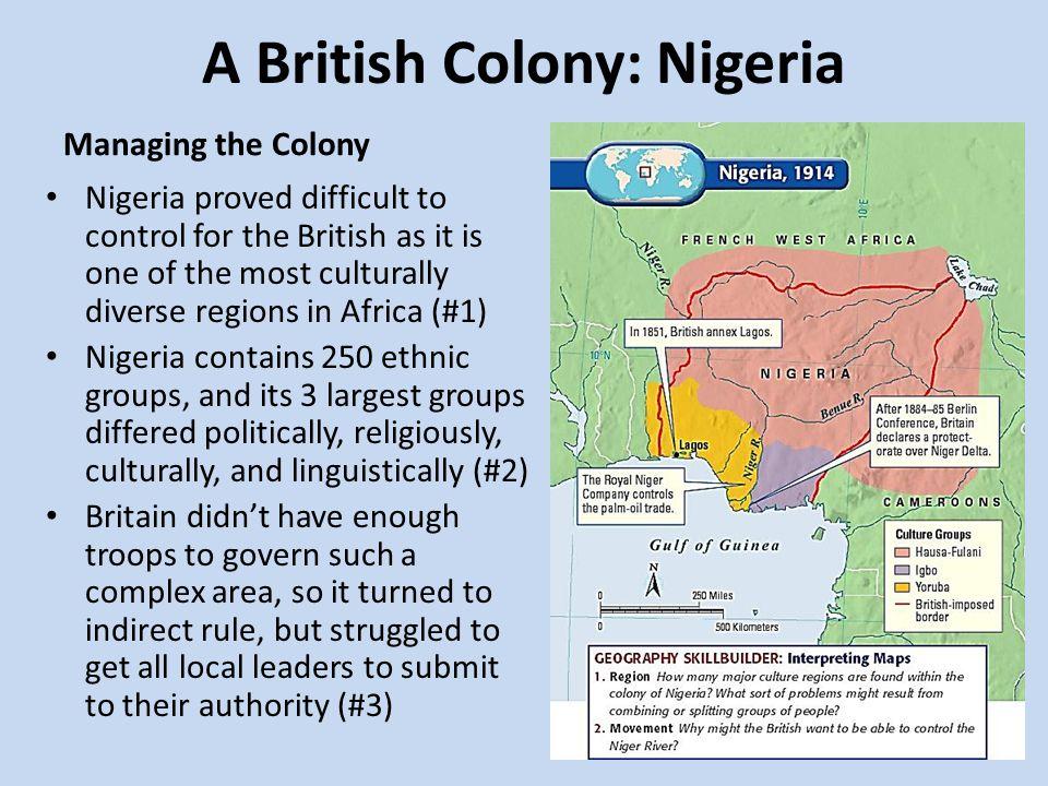 british colonize nigeria