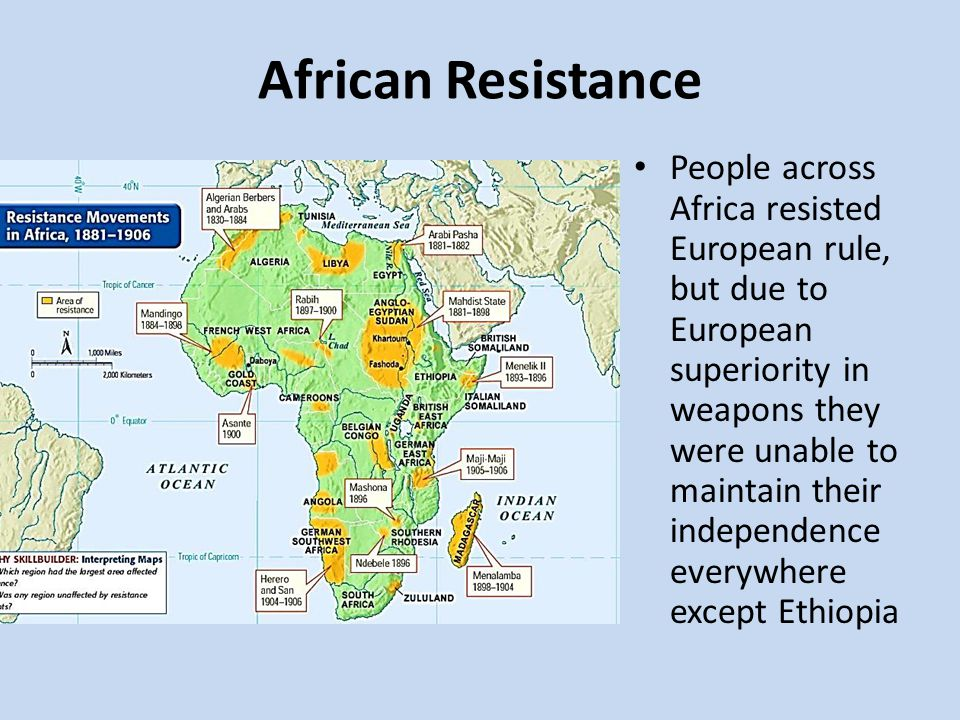 african resistance to imperialism