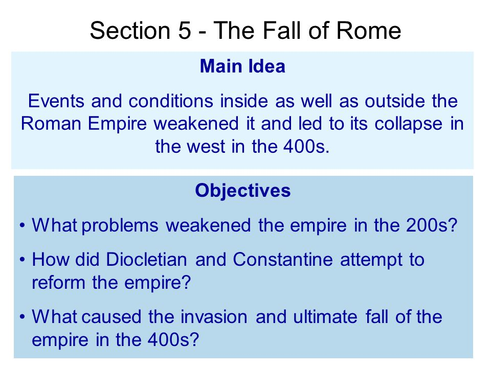 4 Reasons Why Rome Fell (Or Did It Ever Fall?)