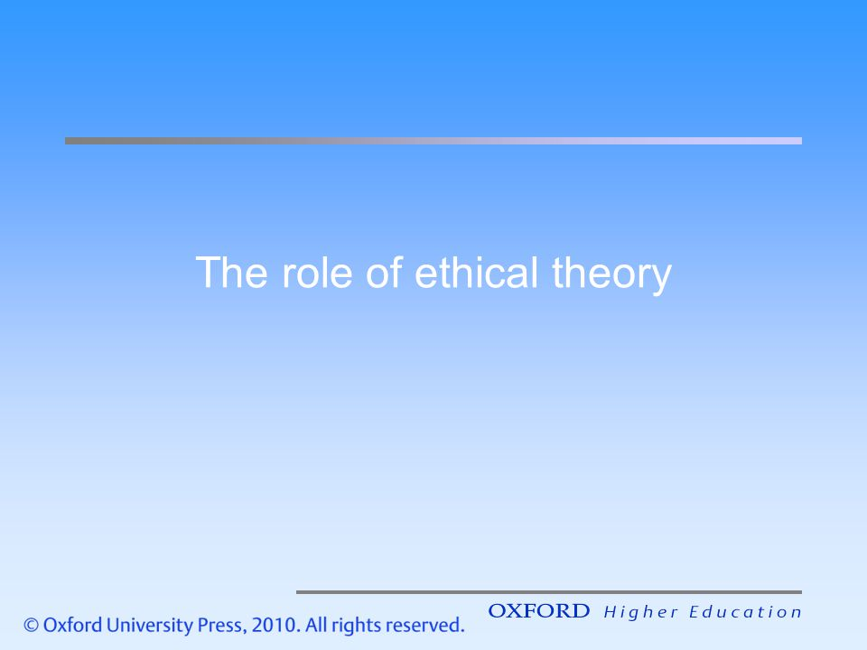 ethical theory on extreme measures The philosophical approaches of kant's deontology and mill's utilitarianism in reviewing the movie extreme measures using the philosophical approaches of kant's deontology and mill's utilitarianism, i will present the ethical parameters of dr luthan's dilemmas and how these two theories explore the moral nature of human beings.