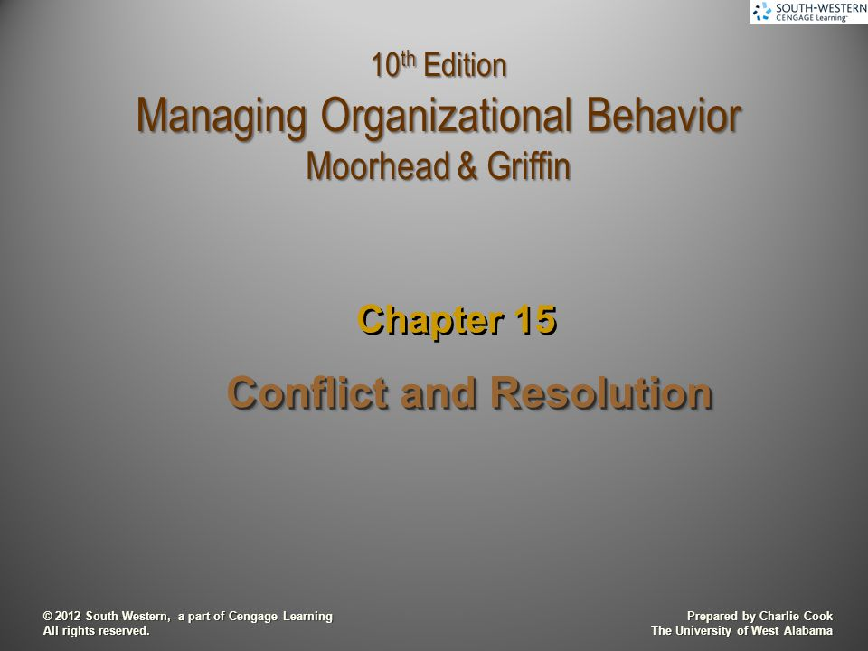 motivation and conflict resolution Four steps to resolving conflicts in health care barry dorn leonard marcus eric j mcnulty october 31, 2013 save share comment text size print loading.